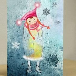 Искусство «теплых» открыток