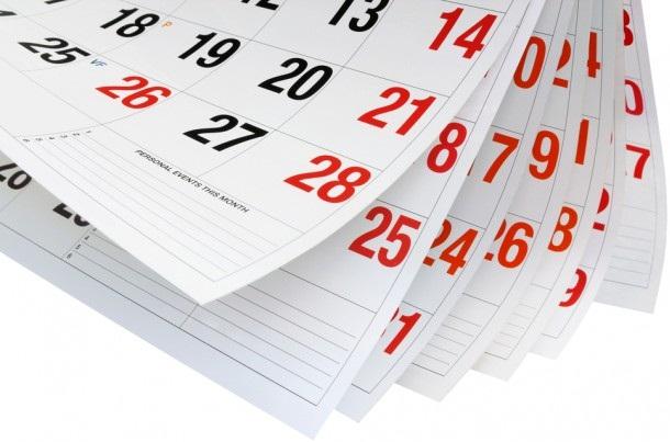удобный перекидной календарь