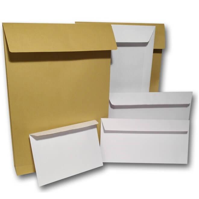 Печать на конвертах разных форматов