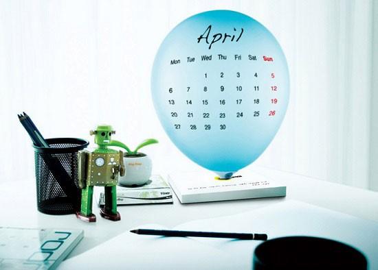 Оригинальные календари: считаем дни шутя