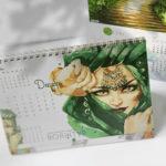 Настольные календари на заказ 5